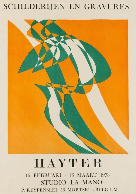 Stanley William Hayter, 'Champ orange (Black & Moorehead 363)', 1973, Forum Auctions