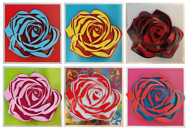 , 'Six Roses,' 2015, FP Contemporary