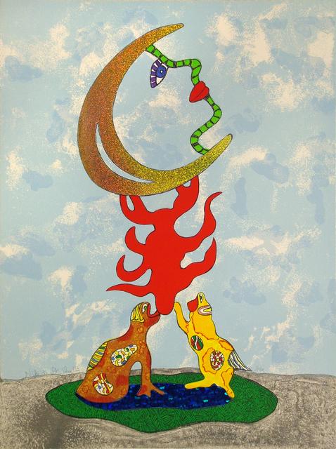 , 'La Lune,' 1997, Nohra Haime Gallery