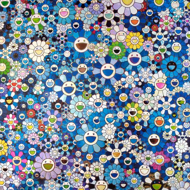 Takashi Murakami, 'Shangri-La Blue', 2016, Lougher Contemporary