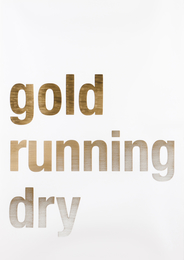 """Untitled (""""Gold Running Dry""""), 2007"""