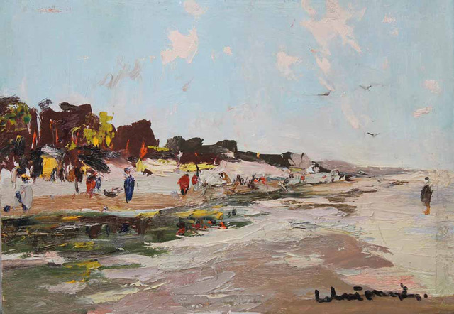 , 'Beach,' 1956, Paul Scott Gallery & galleryrussia.com