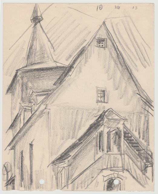 , 'Kirche in Eichelborn,' 1913, Henze & Ketterer