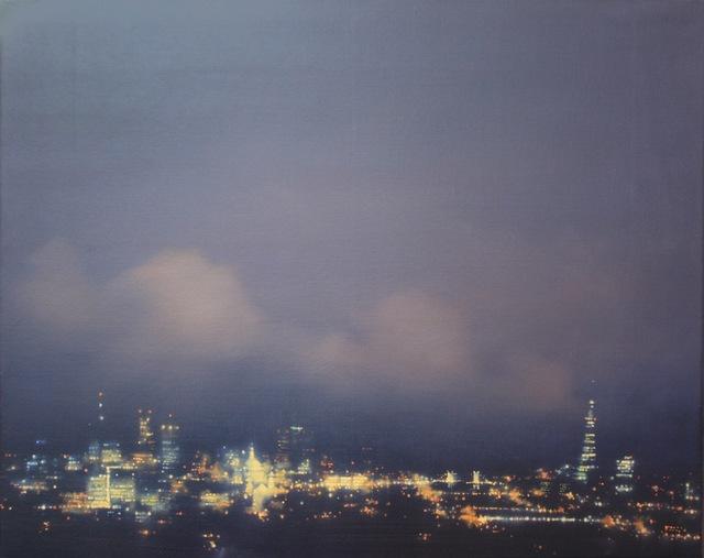 , 'City of London Blue Study,' 2016, Long & Ryle