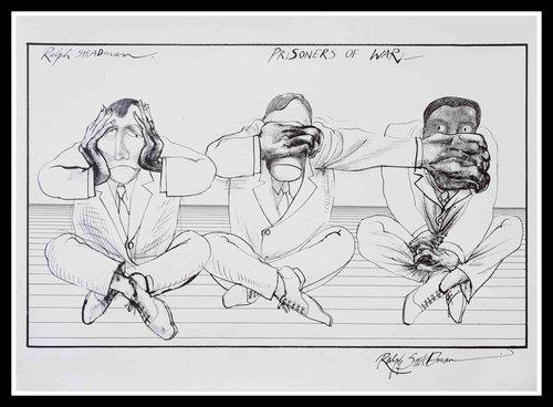 Ralph Steadman, 'Prisoners of War ', 1972, Gonzo Gallery