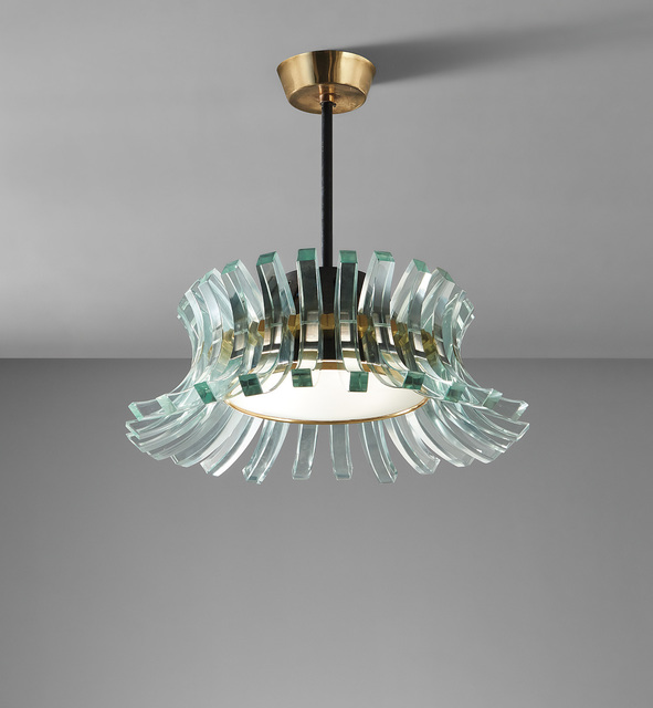 Max Ingrand, 'Rare ceiling light', circa 1965, Phillips