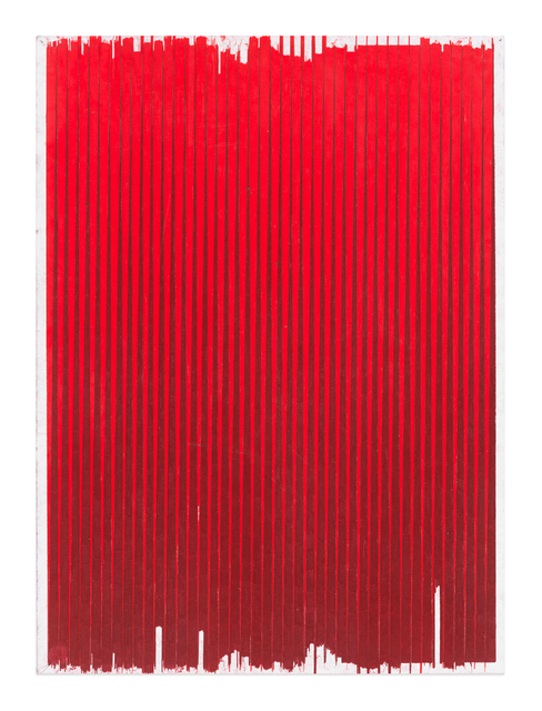 , 'Lonely Planet (Permanent Red / Crimson Red),' 2016-2017, Gavlak