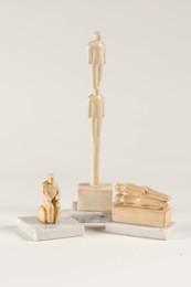 (i) Vertical Figures (ii) Sitting Man II (iii) Couple II