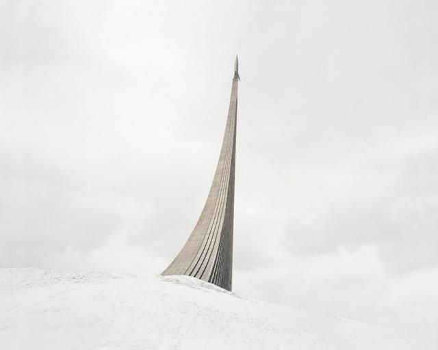 , 'Monument to the Conquerors of Space. The rocket on top was made according to the design of German V-2 missile. Russia, Moscow,' 2015, Pechersky Gallery