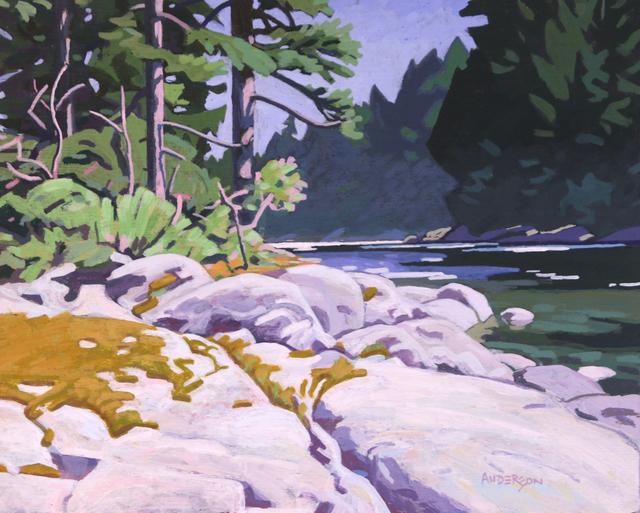 , 'Canoe Rapids,' , Madrona Gallery