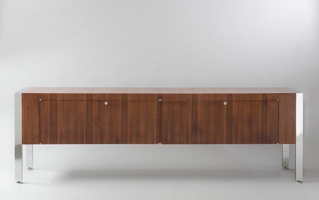 Joseph-André Motte, 'Gamme Prestige sideboard', 1962, Design/Decorative Art, Chromed metal and rosewood, Galerie Pascal Cuisinier