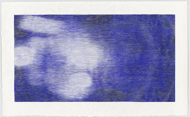 , 'Ultramarine,' 2017, Galerie Christian Lethert