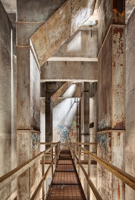 , 'Upper Catwalk Damen Grain Silo #17,' , Chicago Art Source