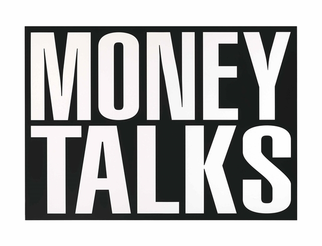 Barbara Kruger, 'Untitled (Money Talks)', Christie's