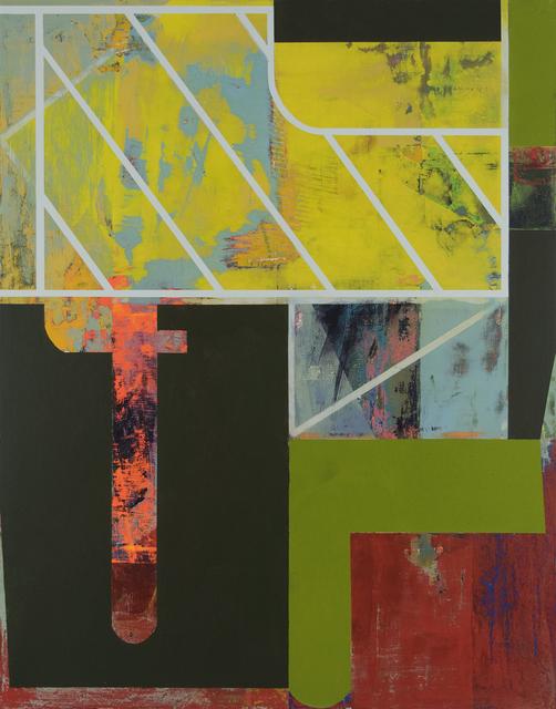 , 'unmap,' 2017, The Schoolhouse Gallery