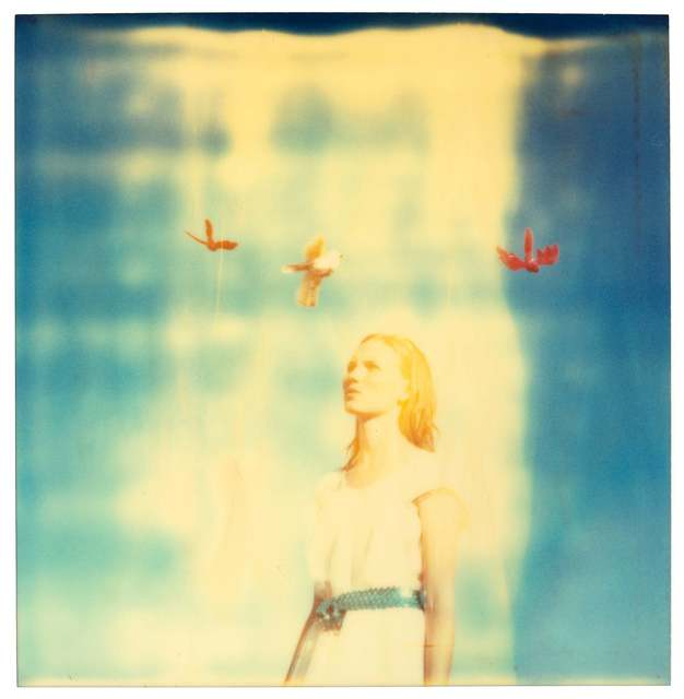 Stefanie Schneider, 'Calliope (Haley and the Birds)', 2013, Photography, Digital C-Print based on a Polaroid, not mounted, Instantdreams