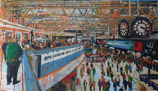 Andrea Sbra Perego, 'London, Waterloo Station', 2019, Name1