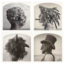 , '(Clockwise, start top left)Tulip Mania, Fiddlehead, Yew Man, Featherman is Abroad,' , Yancey Richardson Gallery