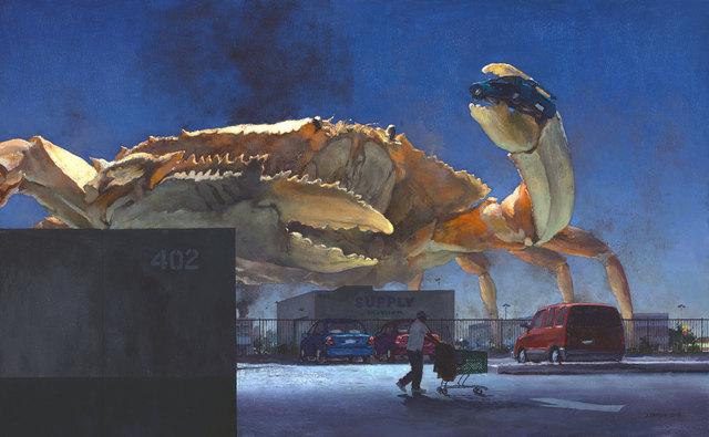 John Brosio, 'Quixote 2000', 2018, Painting, Oil on Canvas, ARCADIA CONTEMPORARY