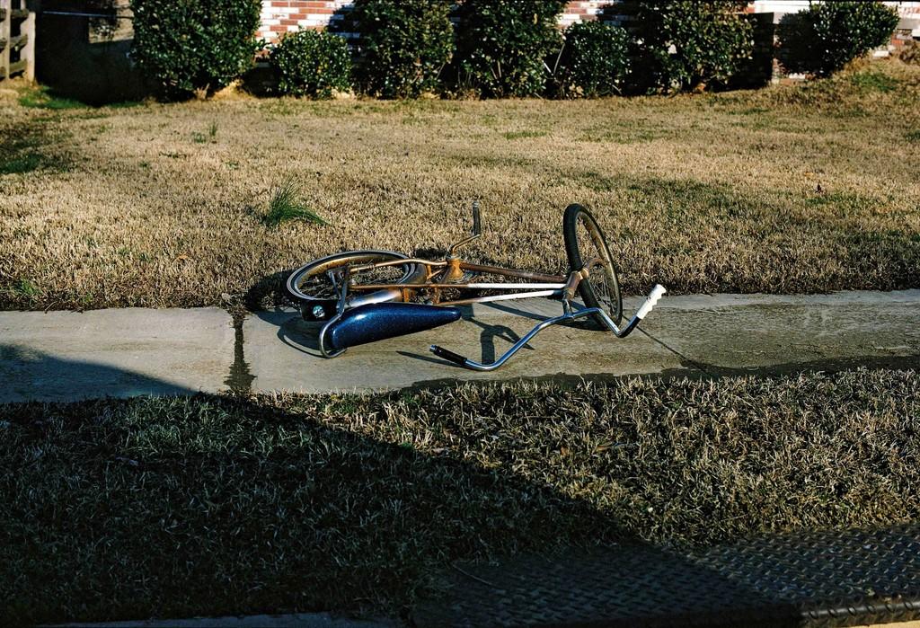 UNTITLED (BICYCLE ON SIDEWALK)