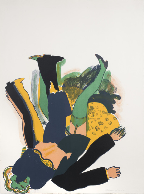 Allen Jones, 'Falling (Concerning Marriages)', 1964, Redfern Gallery Ltd.