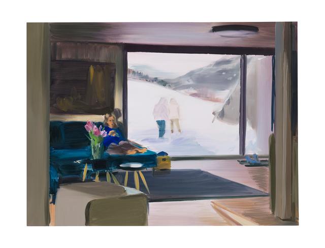 , 'Study for Snowscape,' 2017, GRIMM