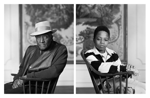 Dawoud Bey, 'The Birmingham Project: Fred Stewart II and Tyler Collins', 2012, Rena Bransten Gallery
