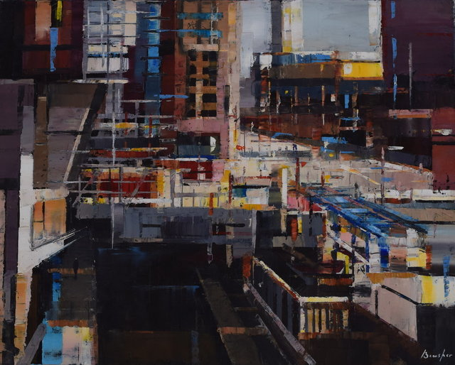, 'Construction in the City,' , Gateway Gallery