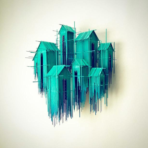 , 'Floating Favelas IV,' 2018, N2 Galería