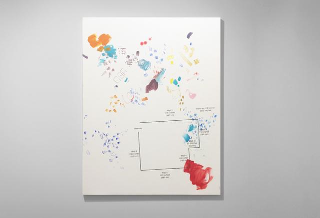 , 'Floor Plan,' 2016, Josée Bienvenu