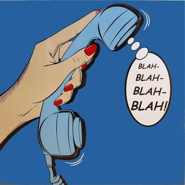 , 'BLAH-BLAH-BLAH-BLAH!,' 2012, Cynthia Corbett Gallery