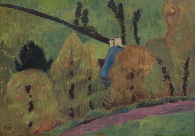 Paul Sérusier, 'Le chemin rose à Châteauneuf du Faou', 1911, HELENE BAILLY GALLERY