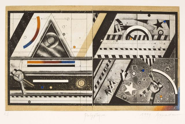 , 'Polyptique,' 1999, Meem Gallery