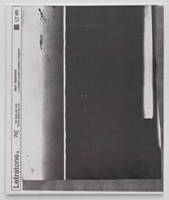, 'E.H.D (Letratone LT49#01),' 2015, Johannes Vogt Gallery