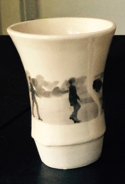 , 'Walking/Cup,' 2015, Freight + Volume