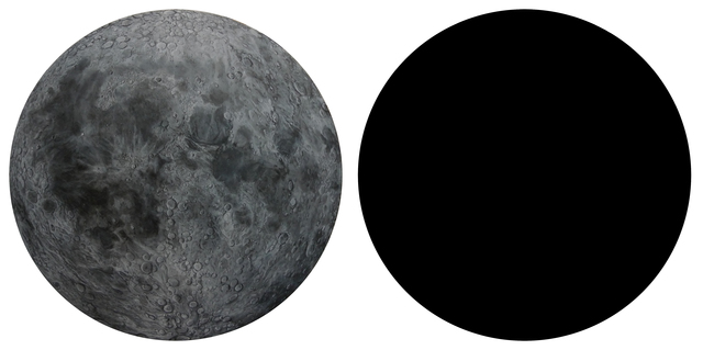 , 'The Moon,' 2014, Yiri Arts