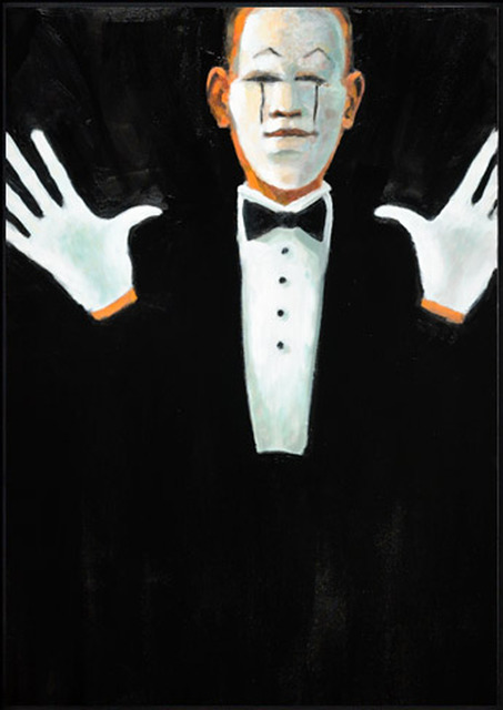 , 'We Wear the Mask,' 2011, Zenith Gallery
