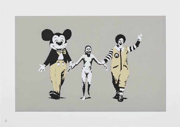 Banksy, 'Napalm Unsigned', 2004, The Drang Gallery