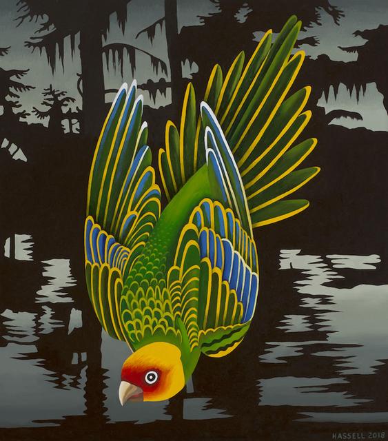 Billy Hassell, 'Carolina Parakeet - Ghost of Cado Lake', 2018, Conduit Gallery