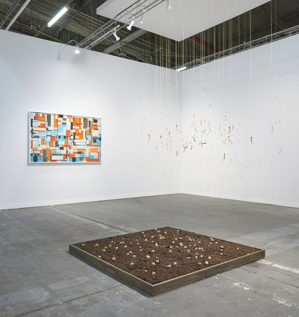 Galeria Nara Roesler, The Armory Show, 2019 -- installation view -- photo © Edward Daniel -- courtesy of the artist and Galeria Nara Roesler