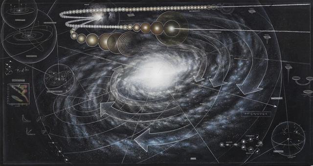 , 'Galaxy (v.1.1),' 2015, Mirus Gallery