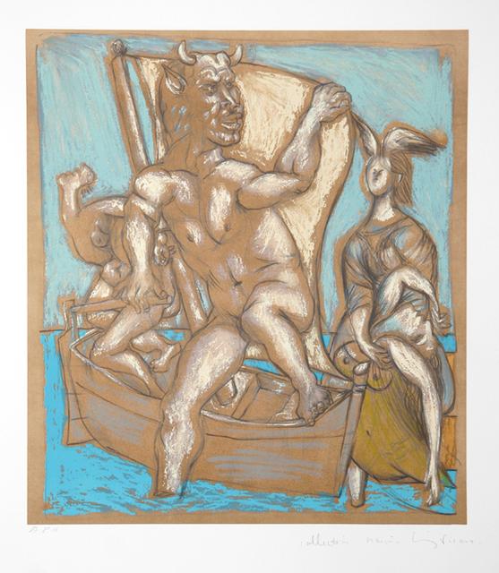 Pablo Picasso, 'Femme et Minotaure, 1937', 1979-1982, Print, Lithograph on Arches paper, RoGallery
