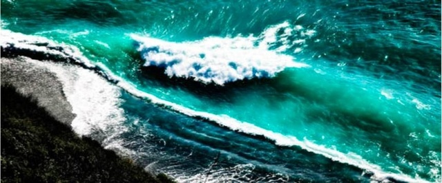 David Drebin, 'Crashing Waves', Art Angels