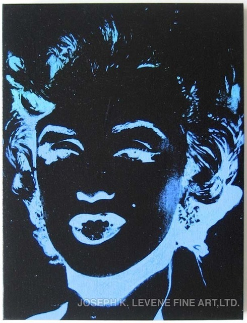 Andy Warhol, 'One Multi-Colored Marilyn (Reversal Series)', 1979-1986, Joseph K. Levene Fine Art, Ltd.