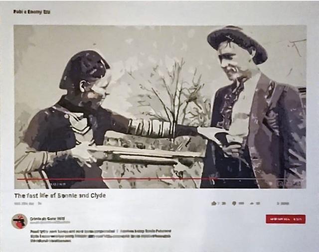 , 'Bonnie and Clyde,' 2019, Axiom Contemporary