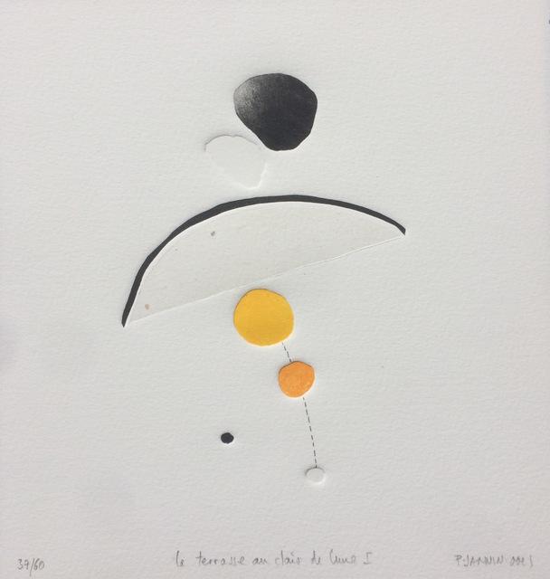 Patrick JANNIN-OMS, 'La Terrasse au clair de lune I - n°37/60', Galerie Capazza