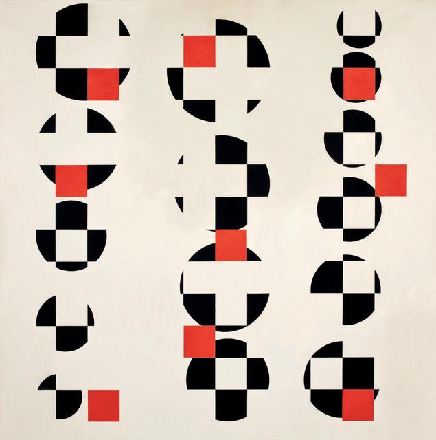 , 'Pintura 174: ritmos coplanares,' 1956, MALBA