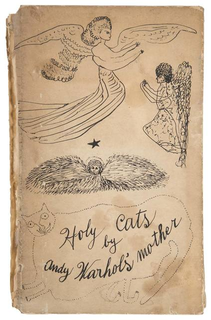 Andy Warhol, 'HOLY CATS BY ANDY WARHOL'S MOTHER (NOT IN F./S.)', 1954, Doyle