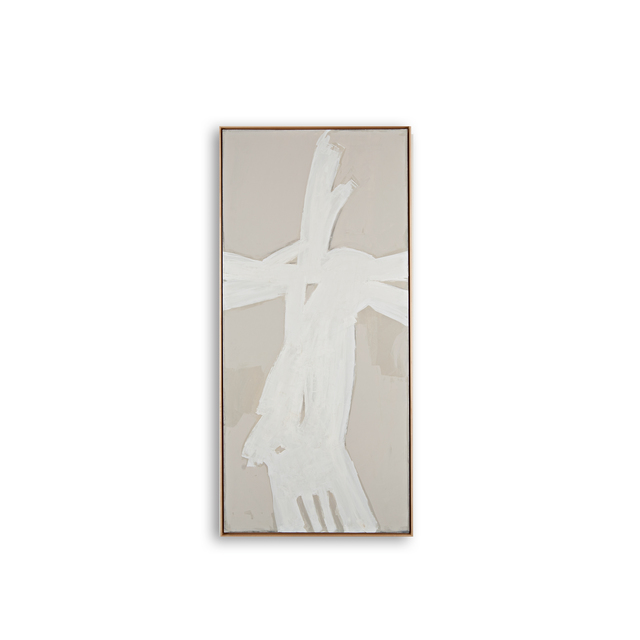 , 'ETHNOGRAFICO BLANC I,' , Exhibit by Aberson