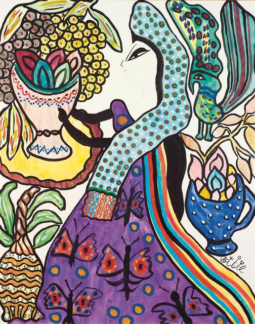 , 'Femme a la coupe de fruits,' , Elmarsa